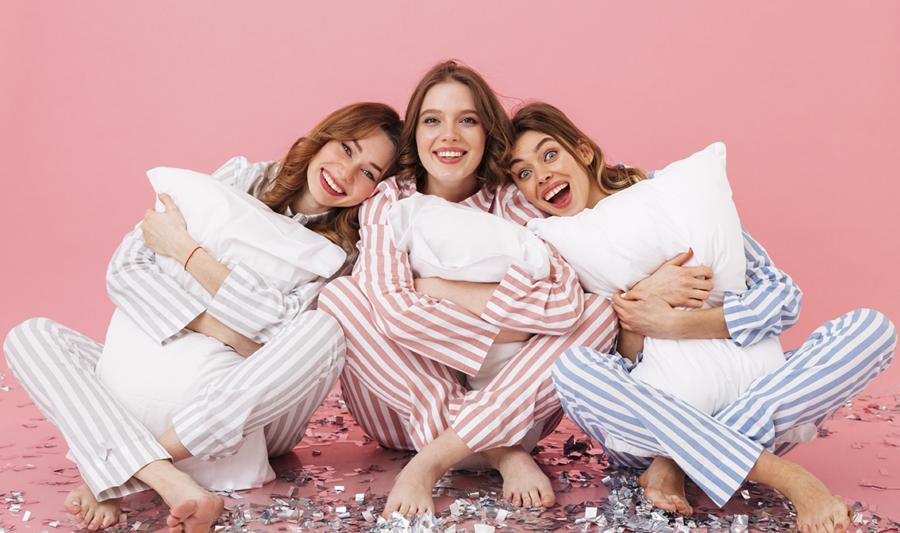 imagen fiesta de pijamas